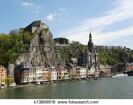 Stock Images of Dinant k13859916.