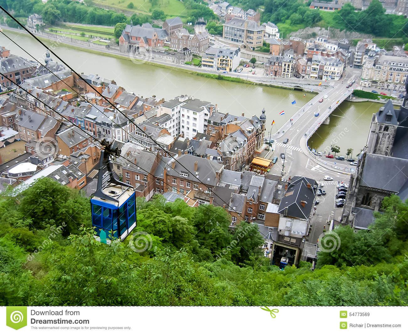 Dinant, Belgium Stock Photo.
