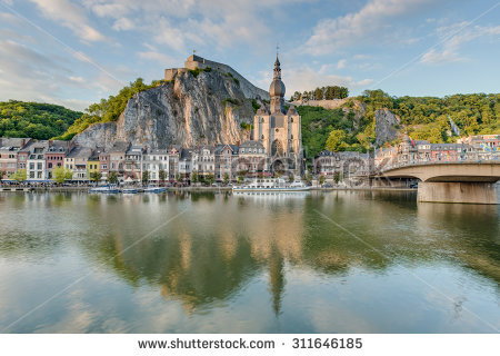 Dinant Belgium Stock Photos, Royalty.