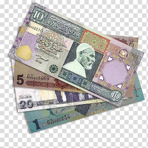 Libyan dinar Kuwaiti dinar Bahraini dinar Currency, banknote.