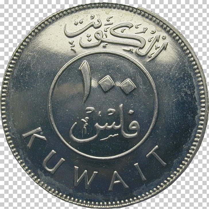 Kuwaiti dinar Coin Money Fils, Kuwait PNG clipart.