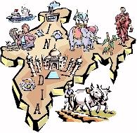 India Culture Clipart.