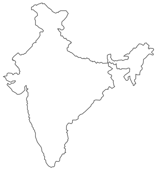 India clipart map.