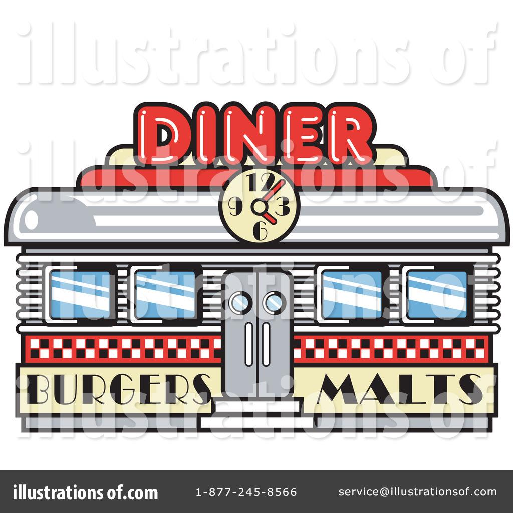 Diner Sign Clipart.