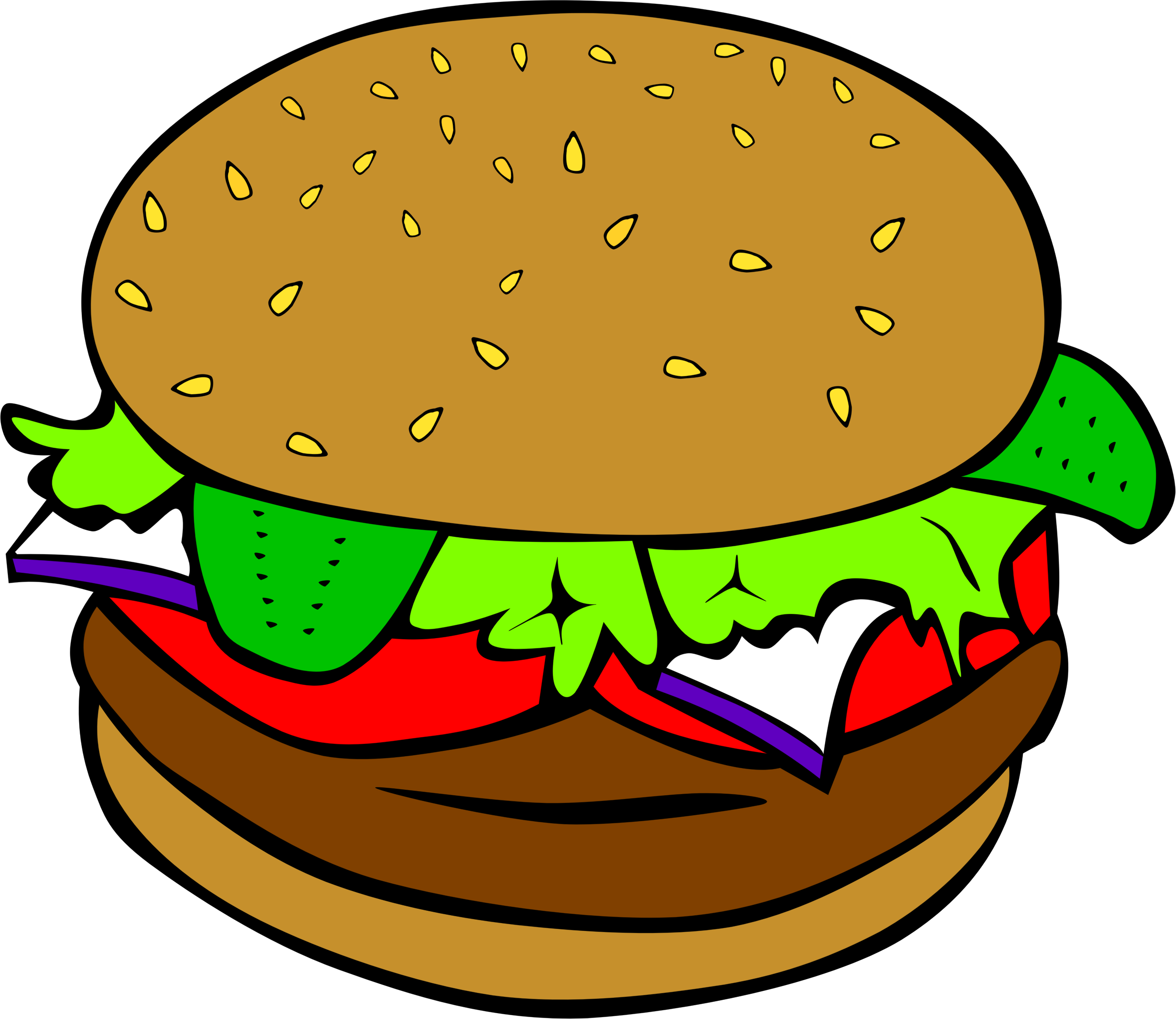 Burger clipart diner food pencil and in color burger png.