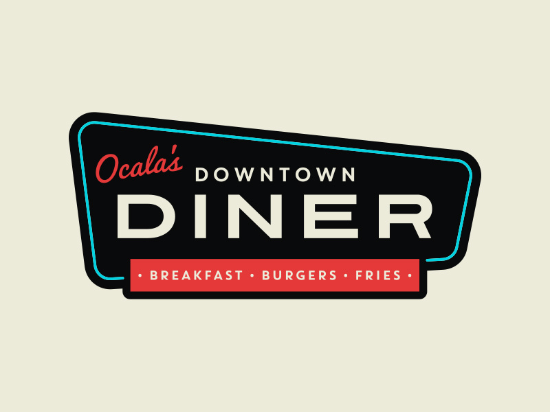 Downtown Diner Logo.