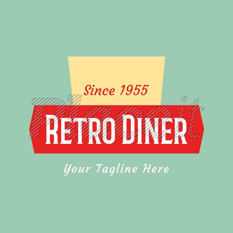 Diner Logo Maker 1229a.