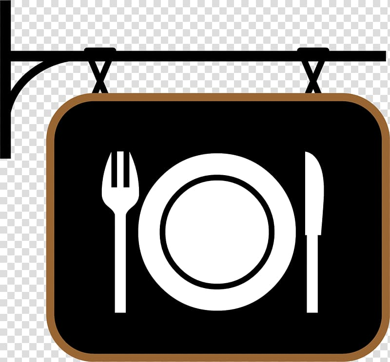 Restaurant , Diner Sign transparent background PNG clipart.