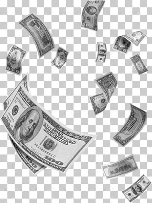Dinero volando PNG cliparts descarga gratuita.