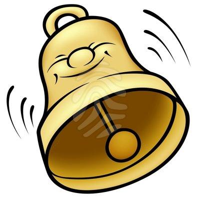 Handbell clip art.