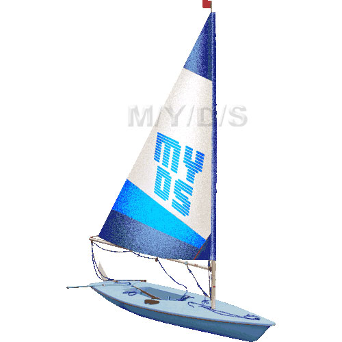 Sailing Dinghies clipart / Free clip art.