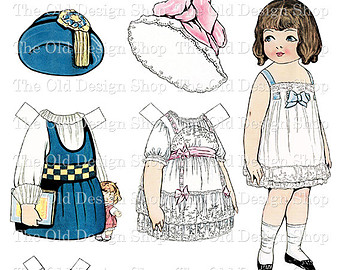 dolly dingle clipart.