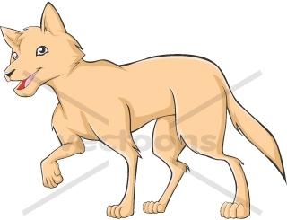 Realistic Dingo.