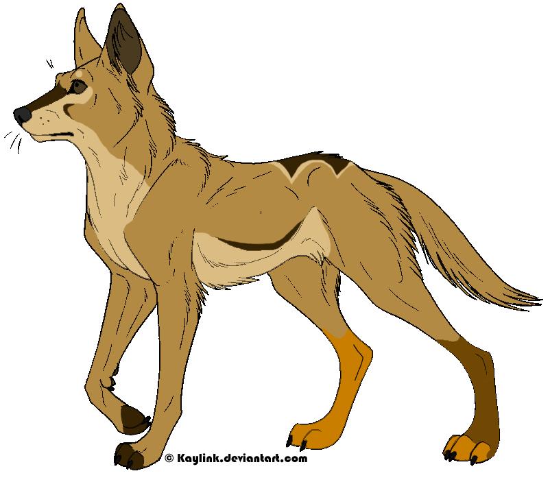 Dingo Clipart.