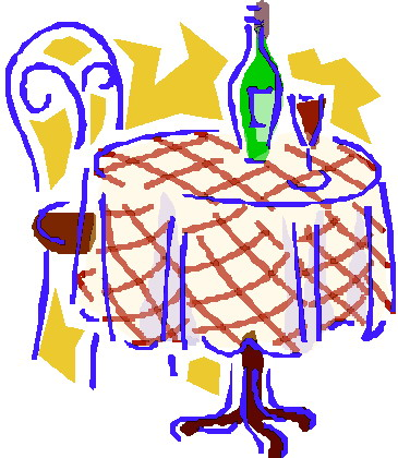 Restaurant Dining Clipart.
