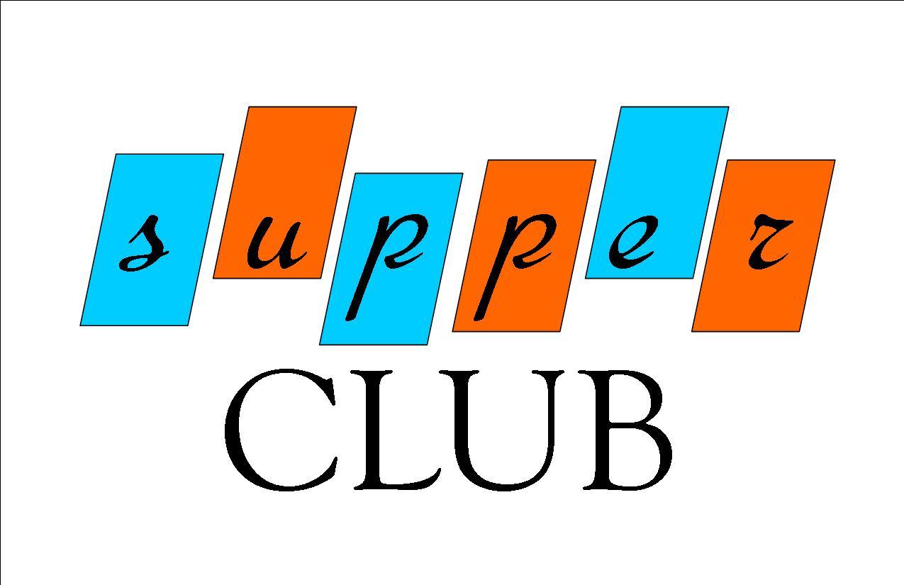Supper club clipart.