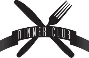 Dinner club clipart.