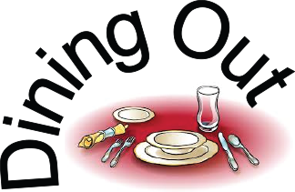 Dining Out Clipart.