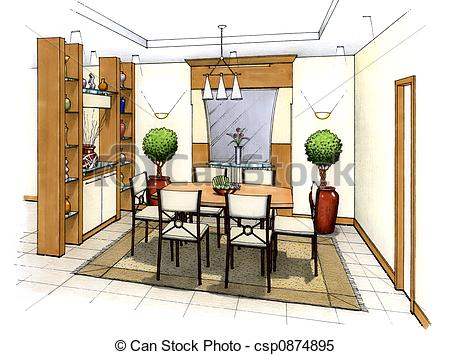 Dining room Clip Art and Stock Illustrations. 3,337 Dining room.
