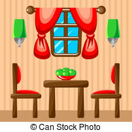Dining room Vector Clip Art Illustrations. 1,723 Dining room.