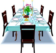 Dining Room Clipart.