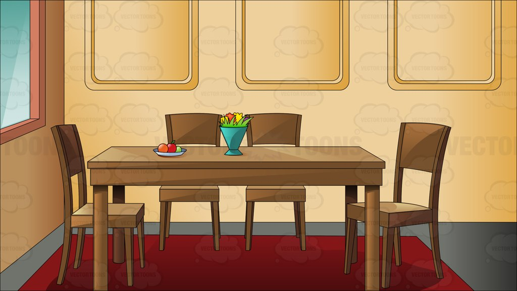 Dining room clipart images.