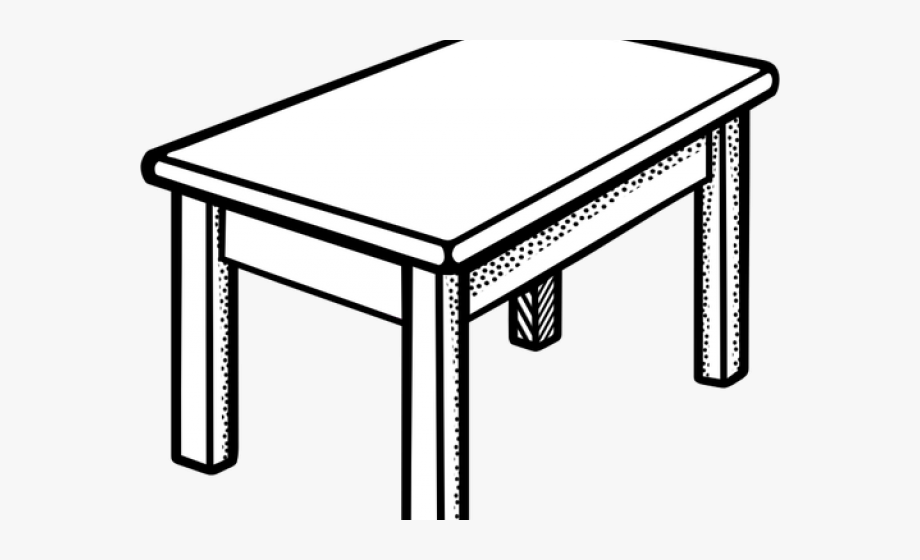Dining Table Clipart Meja.