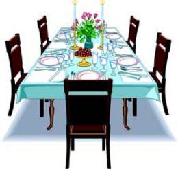 Download clip art dining room clipart Table Dining room Clip art.