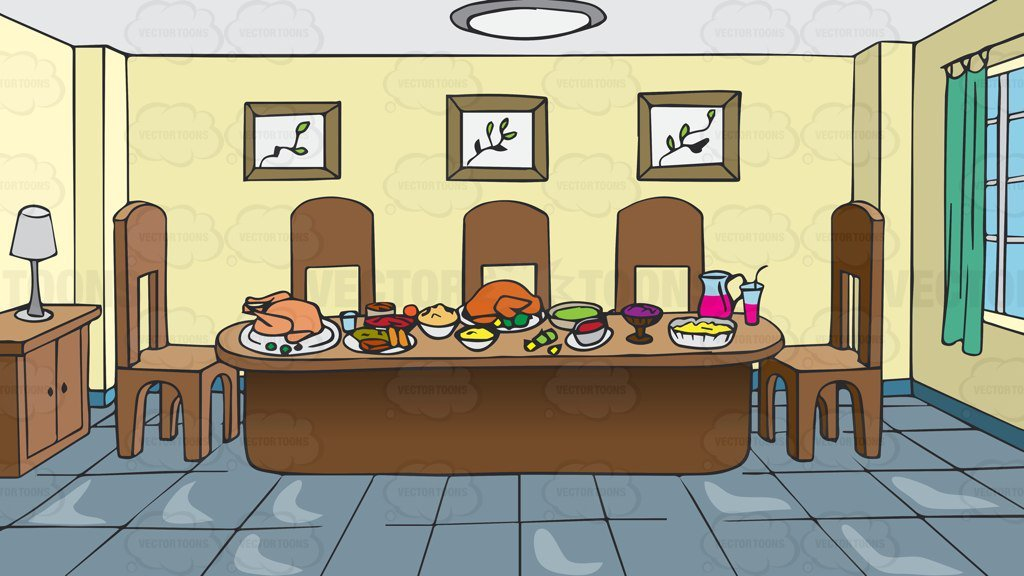 Dining room table clipart 2 » Clipart Portal.