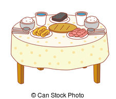 Dinner table Clip Art and Stock Illustrations. 13,930 Dinner table.