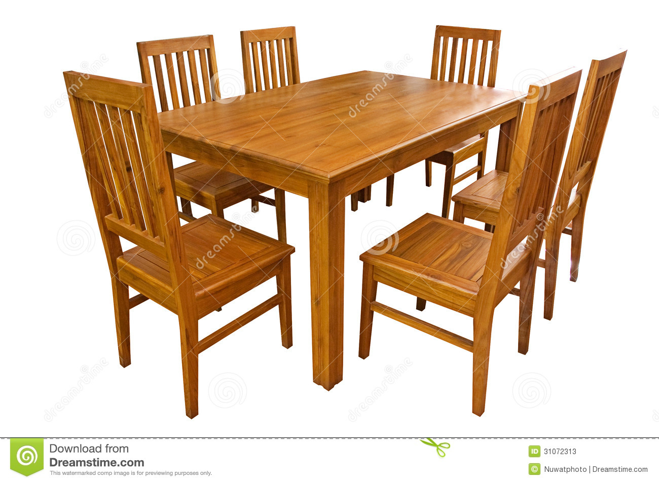 Dining table simple clipart.