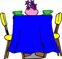 Free Dining Table Clipart.