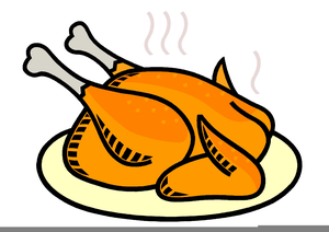 Free Turkey Dinner Clipart.