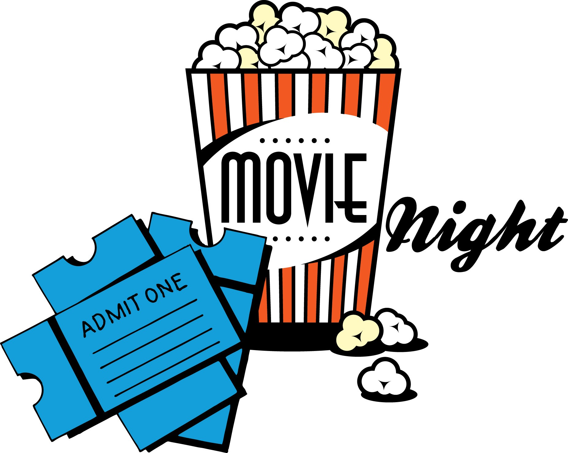 Dinner and a movie clipart 4 » Clipart Portal.