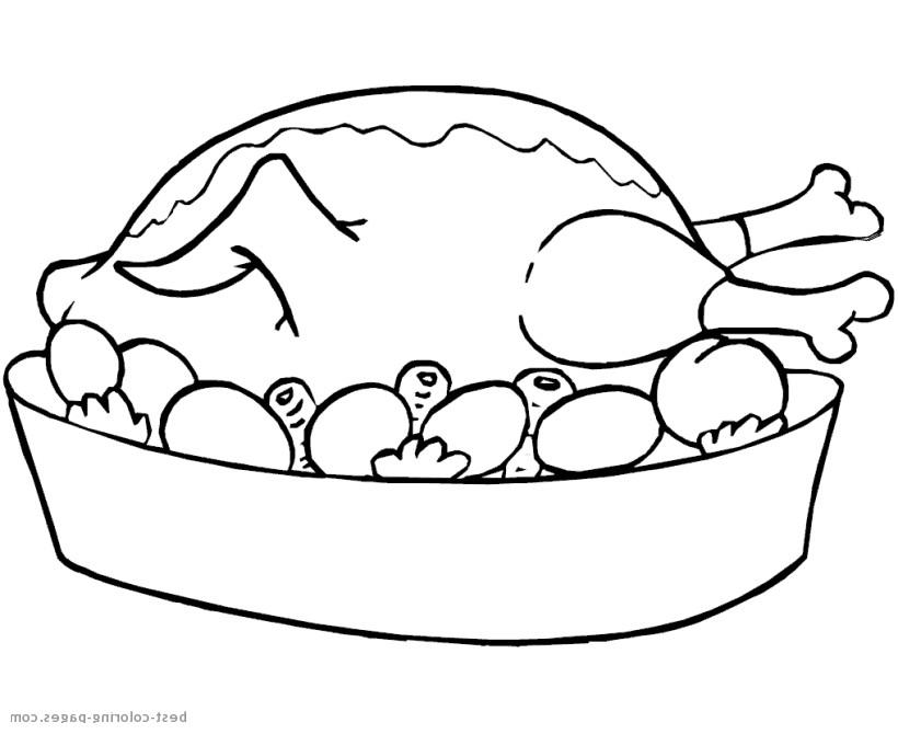 Turkey dinner clipart black and white clipartsgram.