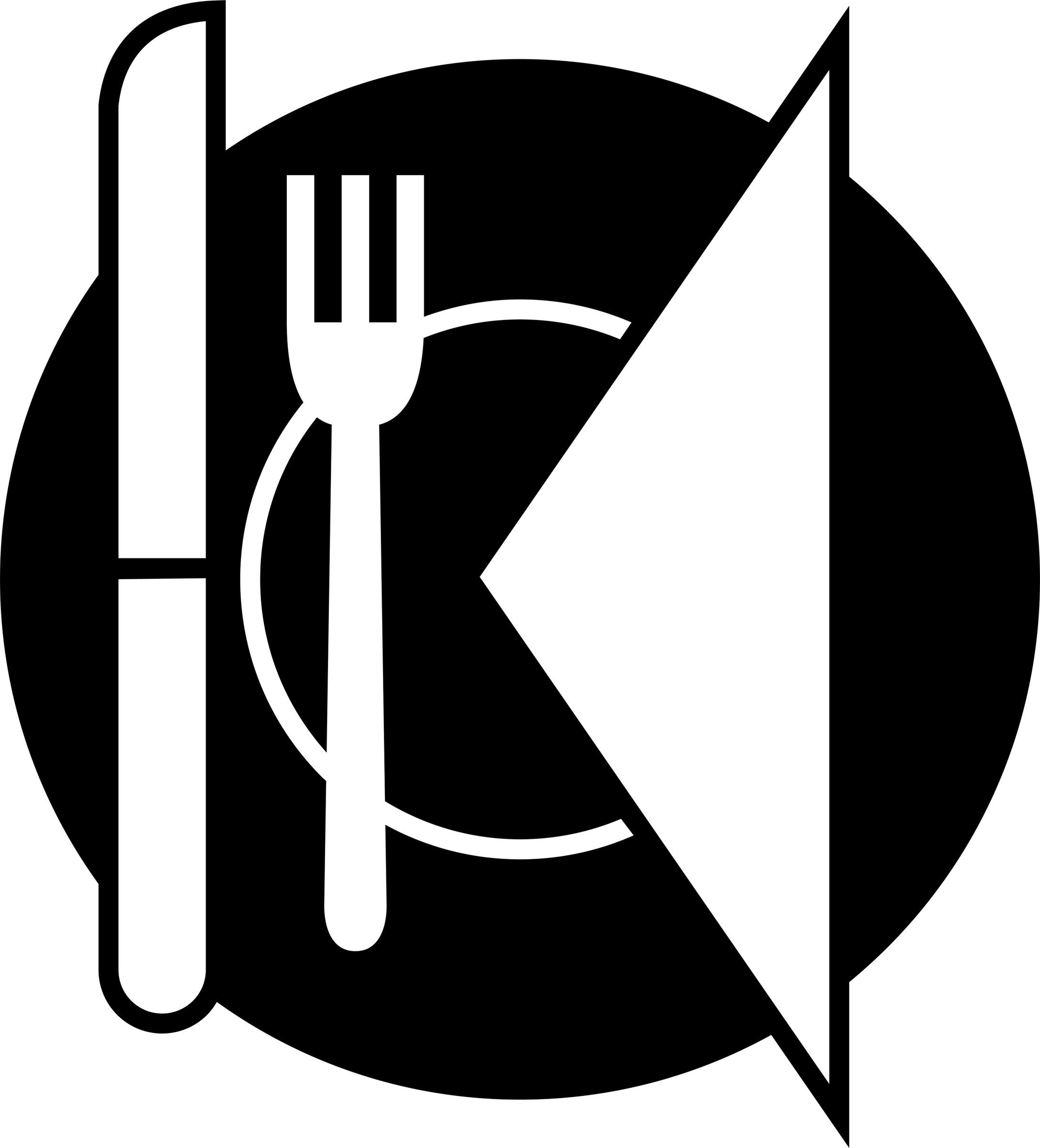 Dinner clipart black and white 2 » Clipart Portal.
