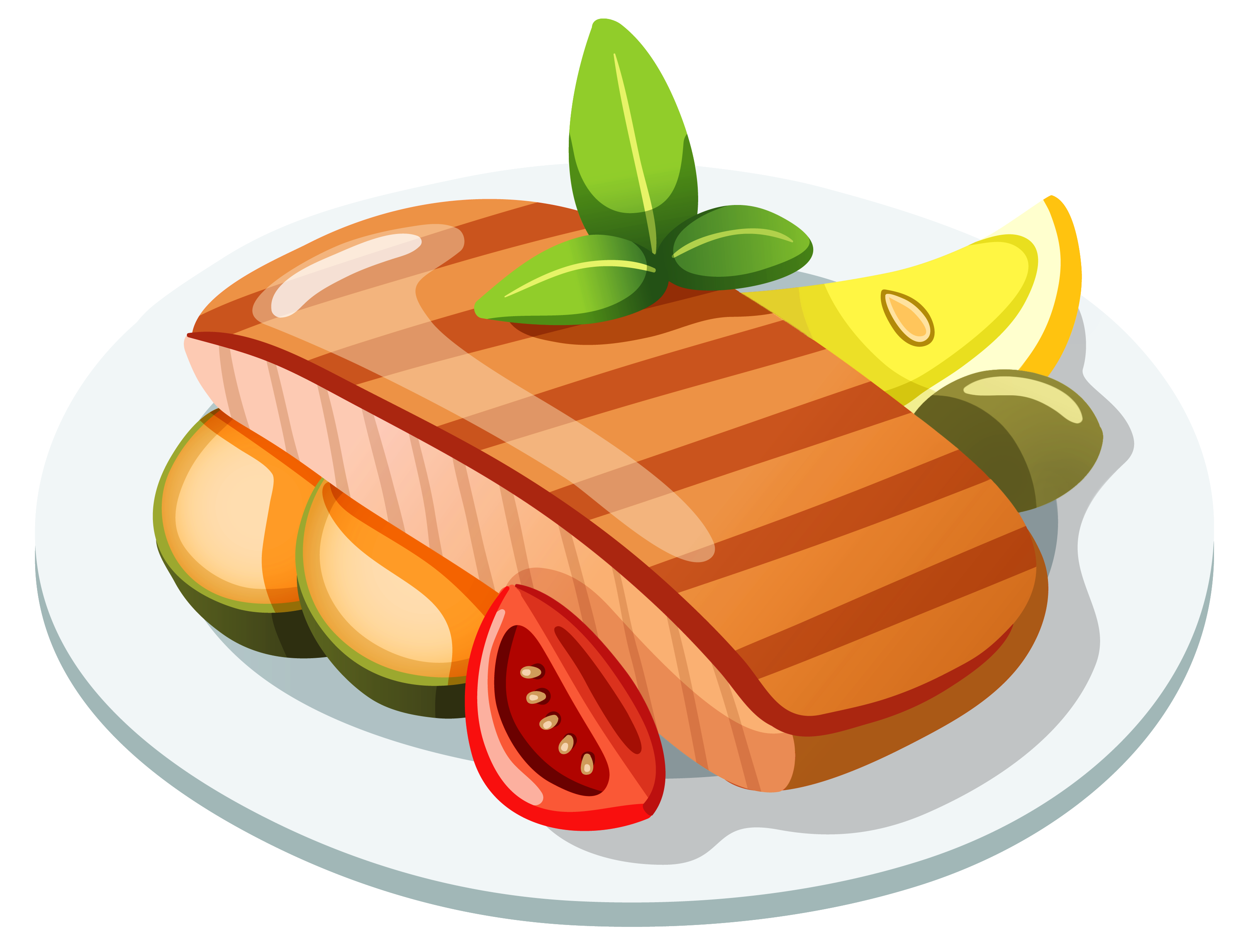 Grilled Steak PNG Clipart.