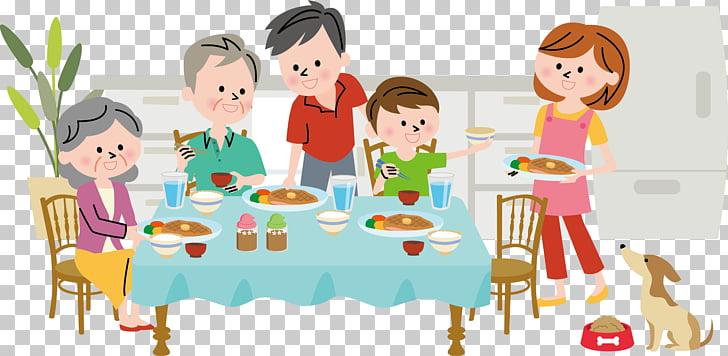 Dinner , Family dinner PNG clipart.