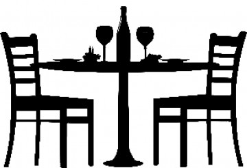 Dinner for two clipart 4 » Clipart Station.