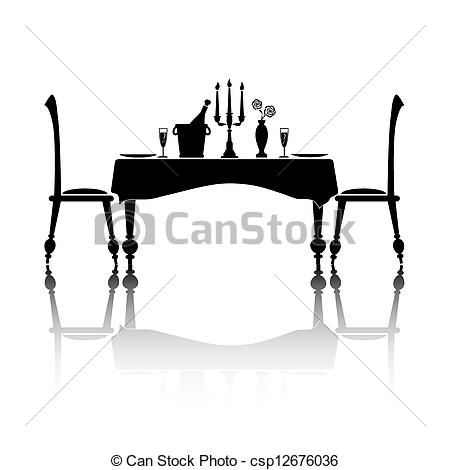 Dinner for two Clip Art and Stock Illustrations. 675 Dinner for two.
