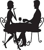 Romantic Dinner For Two Clipart Clipart Suggest.