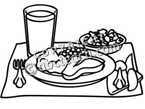Dinner Clipart.