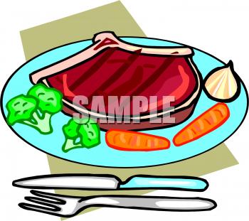 Dinner Food Clipart.