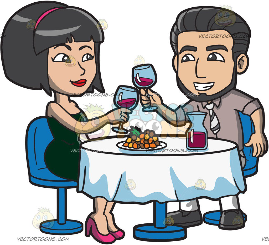 Dinner out clipart 4 » Clipart Station.