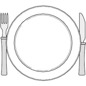 Table Setting Clipart Lovely Place Setting Clipart 47.