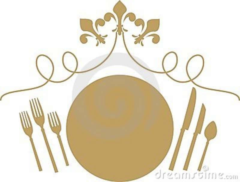 Formal place setting clipart clipartsgram.