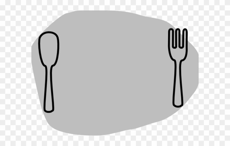 Cutlery Clipart Thanksgiving Dinner Plate.