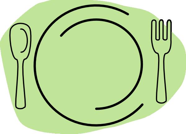 46+ Dinner Plate Clipart.