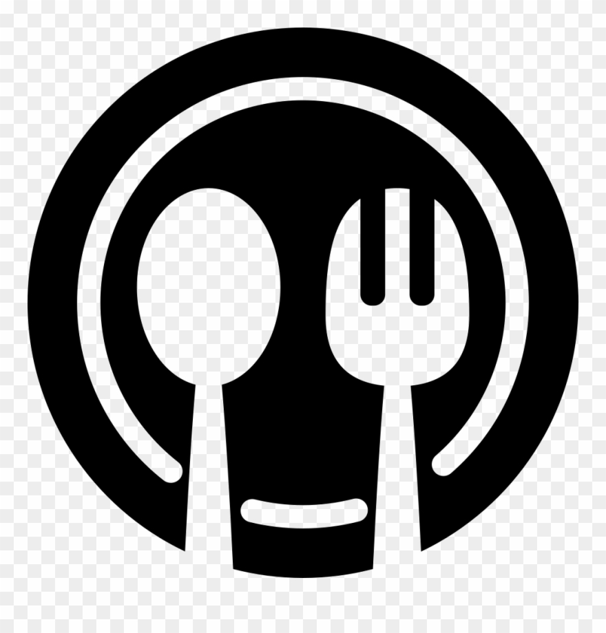 Dining, Dinner, Plate, Restaurant Icon.