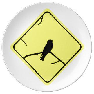 Swallow Bird Plates.